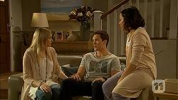 Amber Turner, Josh Willis, Imogen Willis in Neighbours Episode 6978
