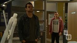 Nate Kinski, Josh Willis in Neighbours Episode 6978