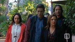 Imogen Willis, Josh Willis, Terese Willis, Brad Willis in Neighbours Episode 6978
