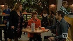 Terese Willis, Susan Kennedy, Nate Kinski in Neighbours Episode 6979