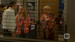 Karl Kennedy, Georgia Brooks, Sheila Canning in Neighbours Episode 6980
