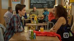 Bailey Turner, Alice Azikiwe in Neighbours Episode 6980