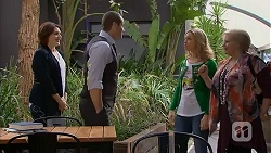 Naomi Canning, Toadie Rebecchi, Georgia Brooks, Sheila Canning in Neighbours Episode 6980