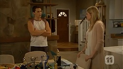 Josh Willis, Amber Turner in Neighbours Episode 6980
