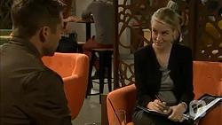 Mark Brennan, Federal Agent Greta Jackson in Neighbours Episode 6982