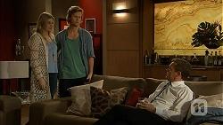 Amber Turner, Daniel Robinson, Paul Robinson in Neighbours Episode 6982