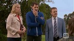 Lauren Turner, Matt Turner, Paul Robinson in Neighbours Episode 6982