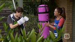 Bailey Turner, Paige Novak in Neighbours Episode 6983