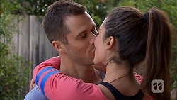Mark Brennan, Paige Novak in Neighbours Episode 6983