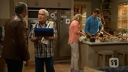 Karl Kennedy, Lou Carpenter, Lauren Turner, Matt Turner in Neighbours Episode 6984