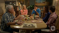 Lou Carpenter, Paige Smith, Lauren Turner, Matt Turner, Alice Azikiwe, Bailey Turner in Neighbours Episode 6984