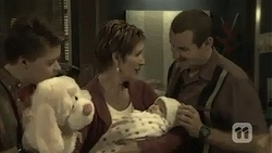 Callum Jones, Susan Kennedy, Nell Rebecchi, Toadie Rebecchi in Neighbours Episode 6985