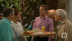 Karl Kennedy, Susan Kennedy, Paul Robinson, Lou Carpenter in Neighbours Episode 6985
