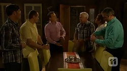 Malcolm Kennedy, Toadie Rebecchi, Paul Robinson, Lou Carpenter, Susan Kennedy, Karl Kennedy in Neighbours Episode 6985