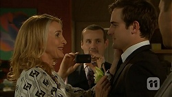 Sharon Canning, Toadie Rebecchi, Kyle Canning in Neighbours Episode 6986