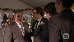 Karl Kennedy, Kyle Canning, Chris Pappas, Nate Kinski in Neighbours Episode 6986