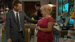 Mark Brennan, Sheila Canning in Neighbours Episode 6986