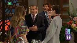 Sonya Rebecchi, Toadie Rebecchi, Matt Turner, Bailey Turner in Neighbours Episode 6986