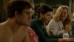 Kyle Canning, Sheila Canning, Bailey Turner, Georgia Brooks in Neighbours Episode 6987