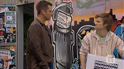Mark Brennan, Daniel Robinson in Neighbours Episode 6988