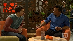 Josh Willis, Ricky Masters in Neighbours Episode 6988
