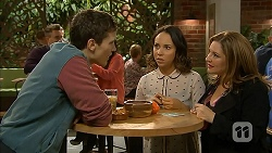 Josh Willis, Imogen Willis, Terese Willis in Neighbours Episode 6988