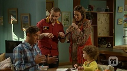 Malcolm Kennedy, Toadie Rebecchi, Sonya Mitchell, Nell Rebecchi in Neighbours Episode 6988
