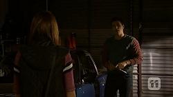 Paige Novak, Josh Willis in Neighbours Episode 6988