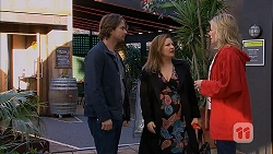Brad Willis, Terese Willis, Lauren Turner in Neighbours Episode 6989
