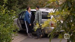 Chris Pappas, Nate Kinski in Neighbours Episode 6989