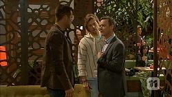 Mark Brennan, Daniel Robinson, Paul Robinson in Neighbours Episode 6990