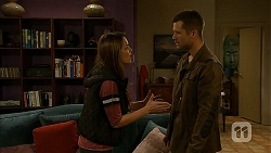 Paige Smith, Mark Brennan in Neighbours Episode 6990