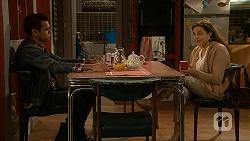 Nate Kinski, Patricia Pappas in Neighbours Episode 6991