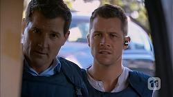 Matt Turner, Mark Brennan in Neighbours Episode 6991