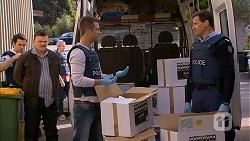 Justin Clemens, Mark Brennan, Matt Turner in Neighbours Episode 6991