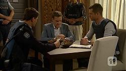 Matt Turner, Paul Robinson, Mark Brennan in Neighbours Episode 6991