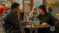 Nate Kinski, Chris Pappas in Neighbours Episode 6992