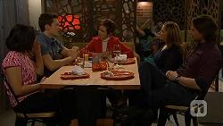 Imogen Willis, Josh Willis, Susan Kennedy, Terese Willis, Brad Willis in Neighbours Episode 6993