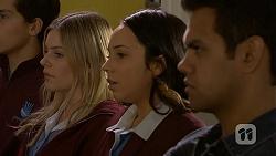 Amber Turner, Imogen Willis, Nate Kinski in Neighbours Episode 6993