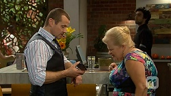 Toadie Rebecchi, Sheila Canning in Neighbours Episode 6993