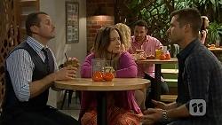 Toadie Rebecchi, Sonya Mitchell, Mark Brennan in Neighbours Episode 6993