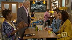 Layla Azikewe, Lou Carpenter, Bailey Turner, Alice Azikiwe in Neighbours Episode 6994