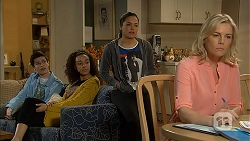 Bailey Turner, Alice Azikiwe, Paige Smith, Lauren Turner in Neighbours Episode 6994