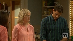 Paige Novak, Lauren Turner, Matt Turner in Neighbours Episode 6995
