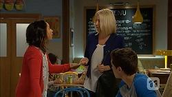 Imogen Willis, Gretchen Kruger, Josh Willis in Neighbours Episode 6995