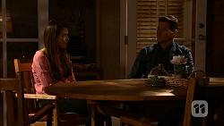Paige Novak, Mark Brennan in Neighbours Episode 6995