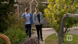 Chris Pappas, Nate Kinski in Neighbours Episode 6996