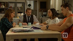 Terese Willis, Toadie Rebecchi, Imogen Willis, Josh Willis in Neighbours Episode 6996