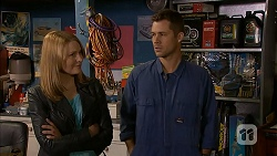 Danni Ferguson, Mark Brennan in Neighbours Episode 6996