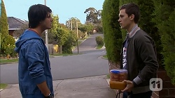 Chris Pappas, Josh Willis in Neighbours Episode 6996